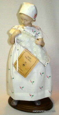 1983 Bing & Grondahl B&G Mary the Doll plus Stand