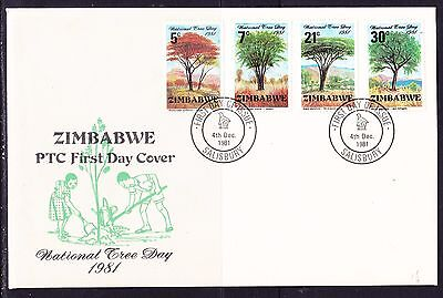 Zimbabwe 1981 National Tree Day First Day Cover