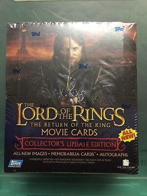 Lotr Return Of The King Movie Cards