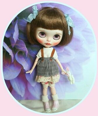 Blythe doll outfit* dress* top* bloomers* socks*   **  NO DOLL  **
