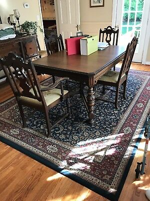 Grand Rapids Chair Company 9 Piece Antique Dining Set