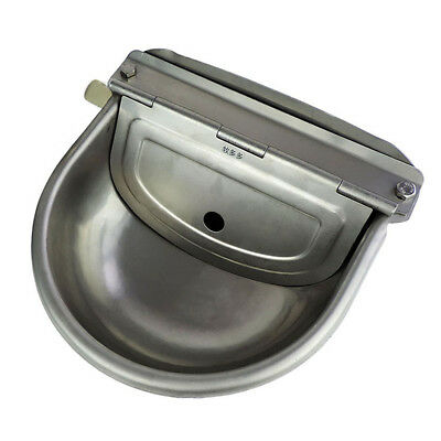 Automatic Grade Stainless Water Bowl Trough Horse Cattle Goat Sheep Dog Water