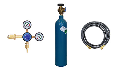 Argon Welding Gas Kit C Size with Gas, Cylinder, Regulator & Hose FREE DELIVERY