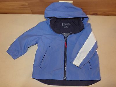 dc18f77e Lands End Toddler Boy/Girl Spring Zip Up Jacket with Hood; Size 3T EUC