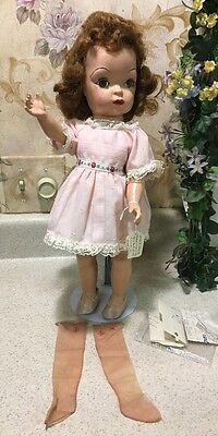 "Mary Jane TERRI LEE doll 16"" tall  W/ Clothes Nylons BEAUTIFUL"