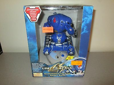 1997 Lost in Space Talking Bank NIB