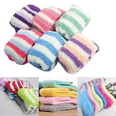 Extremely Cozy Cashmere Socks Womens Men Winter Warm Sleep Bed Floor Haus Fluffy