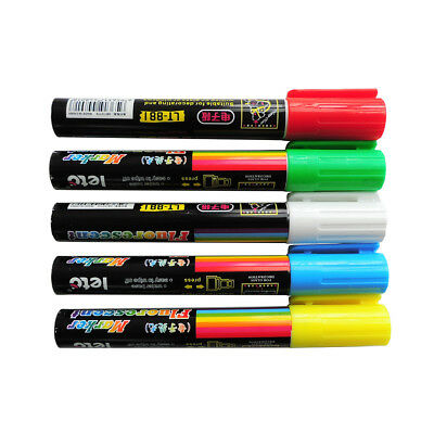 5pcs Queen Bee Marking Marker Pen Set BeeKeeping White Green Blue Red Yellow