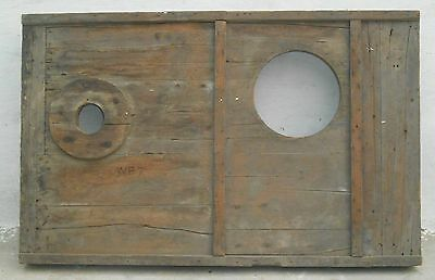 Steampunk wood wooden Mould/mold of Industrial machine décor project my26