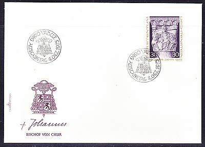 Liechtenstein 1975  Christmas First Day Cover