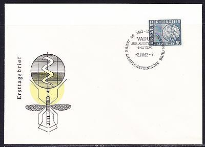 Liechtenstein 1962 Malaria First Day Cover