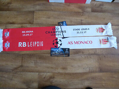 13.09.2017  RB Leipzig - AS Monaco Schal / Scarf CL