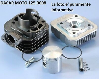 125.0008 Set Cylindre Air D.47 Polini Kymco Comme 50 2T Air - People 50 2T