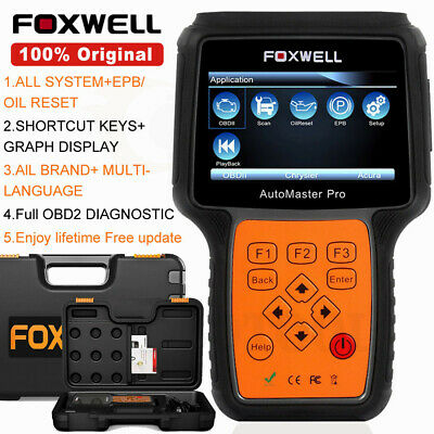 FOXWELL NT624 All Systems ABS AIRBAG SRS SCANNER Universal Diagnostic Scan Tool