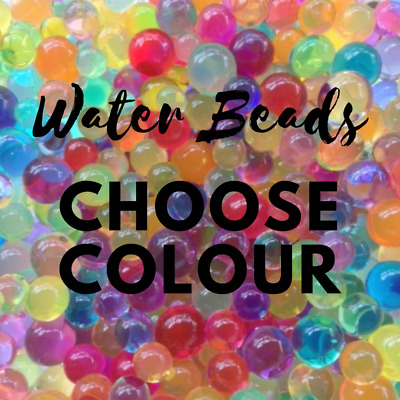 Water Beads Sensory Toy ~ Just Add Water; Dragon and Fairy Eggs Choose Colour