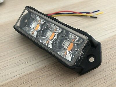 G3 Extreme DUAL COLOUR 9W LED Strobe Light head - NEW