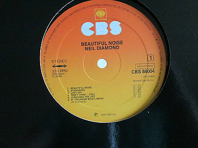 Neil Diamond - Beautiful Noise [Lost Orig Album Cover] LP Vinyl 1976 [CBS 86004]