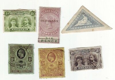 Old Africa  Used & Mint  == 6 ==
