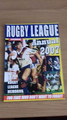 Rugby  League Journal Annual 2007