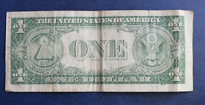 1935 Series D USA $1 one dollar silver certificate banknote Priest Humphrey sigs