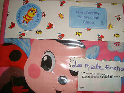 Pillow Case D Funny From Small Bêtes Beautiful La Coccinelle 63 X 63 Cm New
