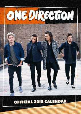 One Direction 1D Official 2018 A3 Wall Calendar Calender Poster Harry Liam Louis