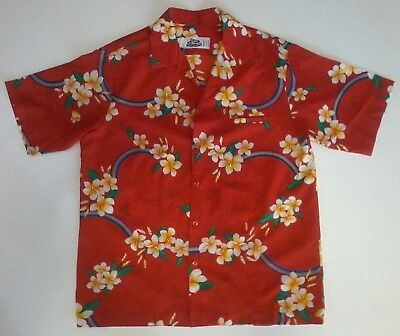 Hilo Hatties Hawaiian Rainbow Frangipani Shirt Size Xl Cool Vintage Make Offer