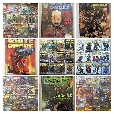 White Dwarf multilist select 150 - 400 old issue monthly magazine Games Workshop