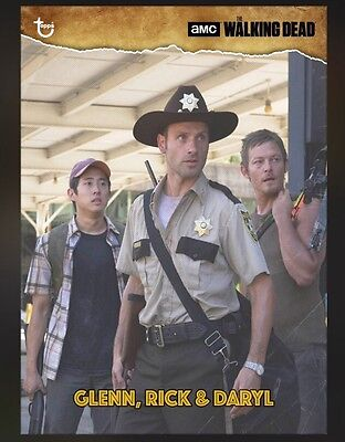 TOPPS The Walking Dead Card Trader: Vintage Glenn, Rick & Daryl search for Merle