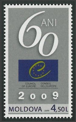 Moldova 2009 60th Anniversary of the Council of Europe MNH stamp