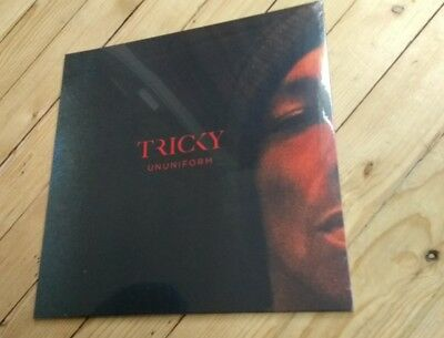 TRICKY - Ununiform lp red vinyl  150 only