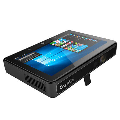 """200"""" Touch HD Windows 10 Wifi LED Home Theater Projector Game HDMI USB 1280*720"""