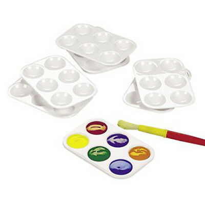 NEW - Reusable Plastic Paint Palettes 12-Pack - FREE SHIPPING CANADA