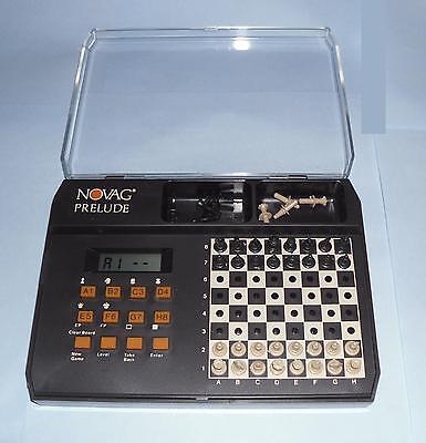 gift Prelude electronic chess computer by NOVAG