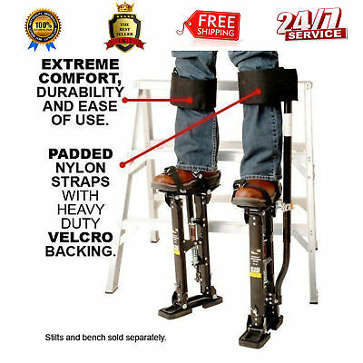 NEWEST Design Comfort Strap Drywall Stilts Leg Band Kit COM-STRAP,My Comfort Leg