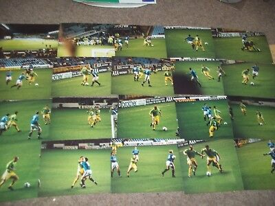 Manchester City V Halifax Town Fa Cup Match Photo Collection 13Th Nov 1998 X 20