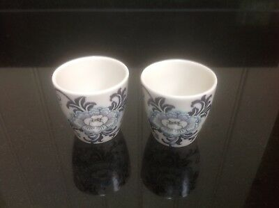 Royal Doulton Nankin T.C.1091 Set of 2 Blue And White Fine China Egg Cups