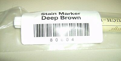 Longaberger DEEP BROWN STAIN MARKER for TOUCH UPS