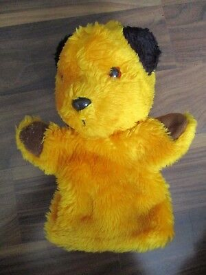 THE SOOTY & CO SHOW - SOOTY hand puppet handpuppet plush PATSY B MARKETING rare