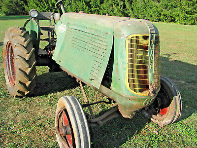 Oliver Model 60 Standard Tractor ~1948 Last Year