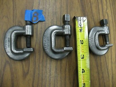 2 ARMSTRONG 78-000 & One Vulcan Drop Forged C-Clamp See Pictures for Inf.