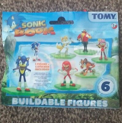 Sonic Boom Series 1 Blind Sealed Bag Buildable Figures - 6 Different to Collect