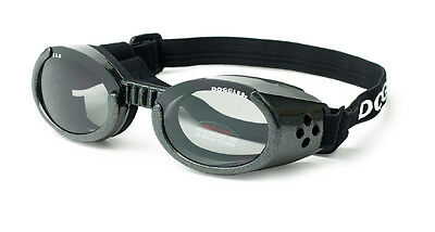 SUNGLASSES FOR DOGS by Doggles - BLACK FRAME  - MEDIUM