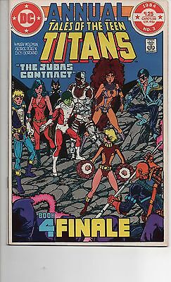 Tales Of The Teen Titans Annual #3 Nm 2Nd App Nightwing Movie Coming Deathstroke