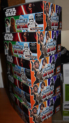 5x Blister Star Wars Force Attax NEU (250 Karten) - original