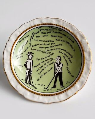 Paragon Golf Plate / Pin Tray, made for the Target Golf Competition 1971