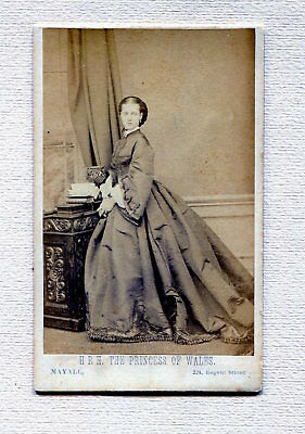 Carte De Visite England Royalty Princess of Wales by Mayall