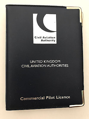 CAA Commercial Pilot Licence Holder Navy Blue