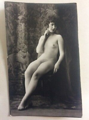 CPA Nu French Carte Postale