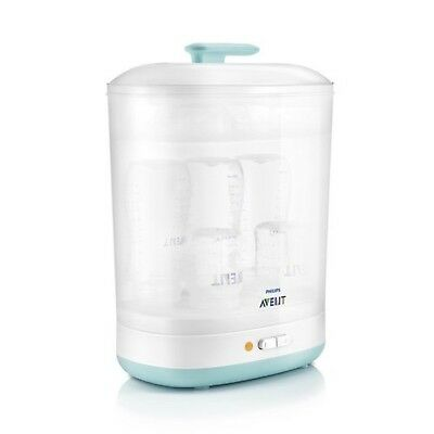 Philips AVENT 2-in-1 Electric Steam Steriliser SCF922/01 NEW
